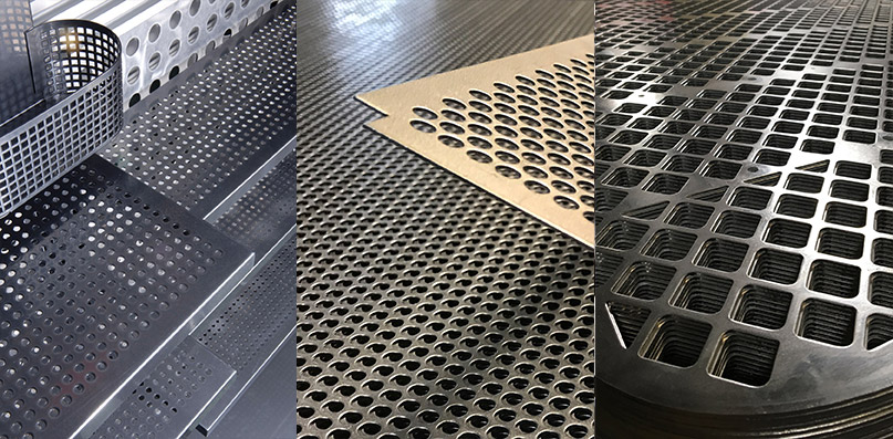 Metal Perforation and fabrication