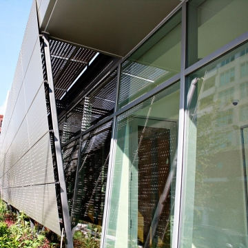 Exterior Perforated Metal Law Office