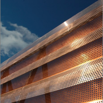 Illinois State Emergency Operations Perforated Copper Exterior