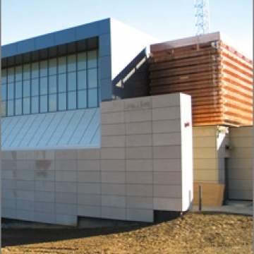 Perforated Copper Exterior Panels