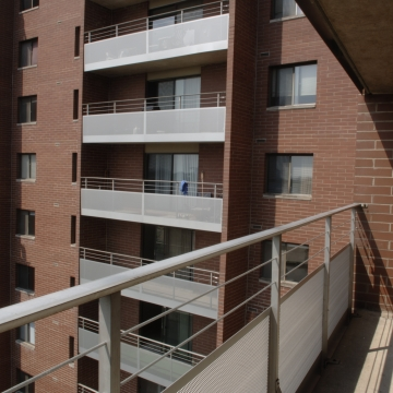 Perforated Metal Balconies Exterior
