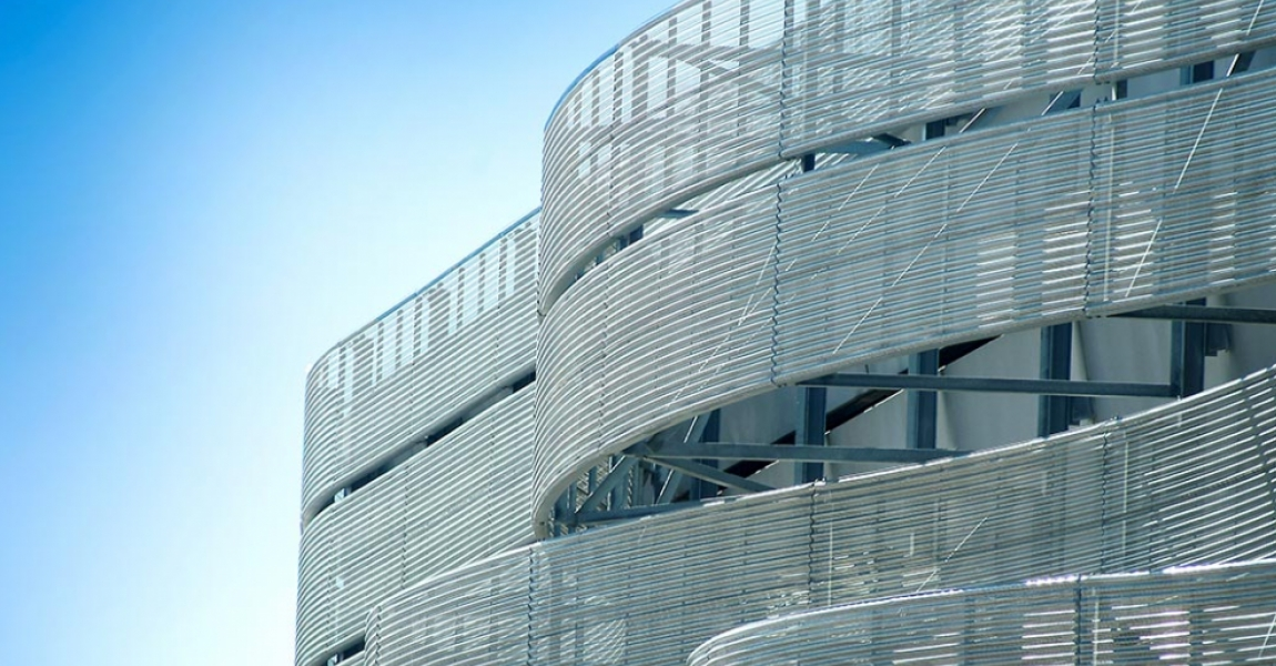 Perforated 3D Facade
