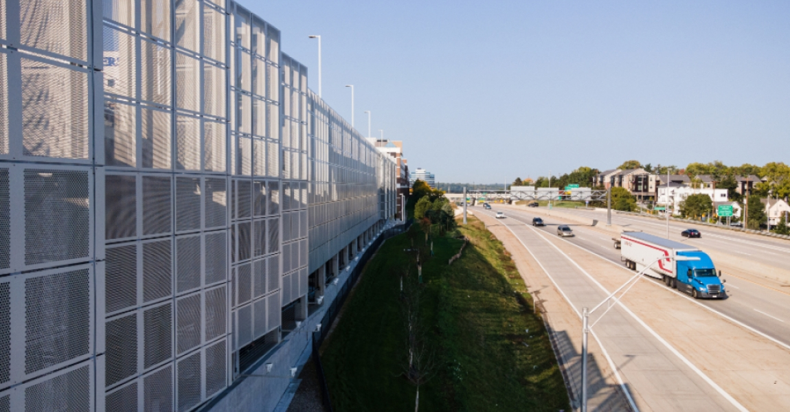 Grand Valley State Perforated Metal