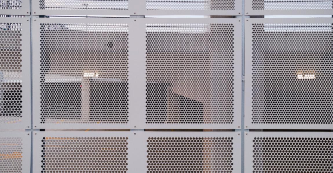 Parking Garage Perforated Metal Facade