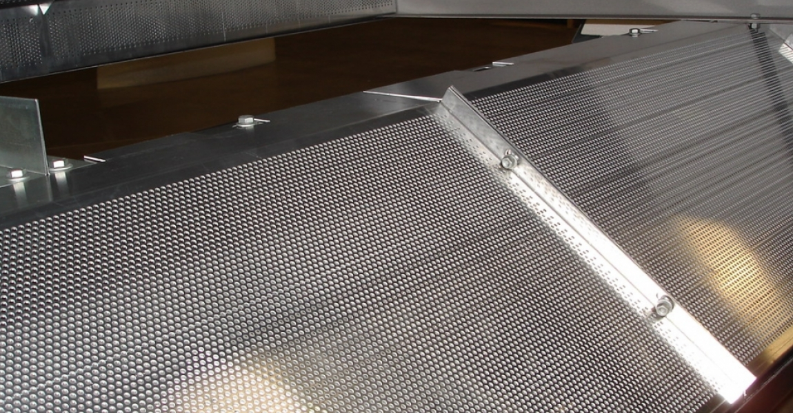 Perforated Acoustic Hood