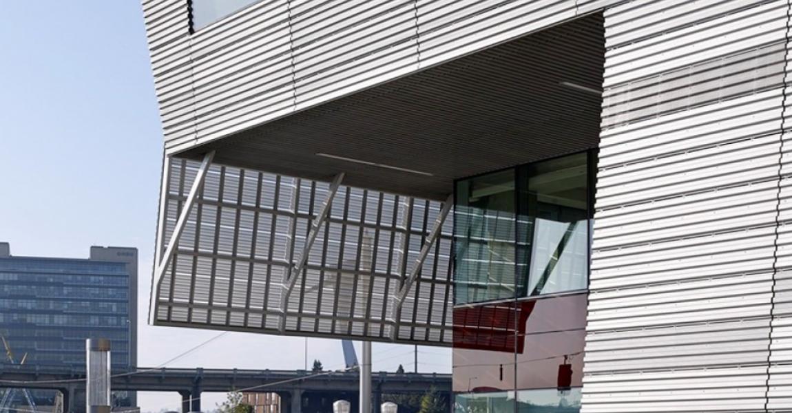 Exterior Corrugated Metal