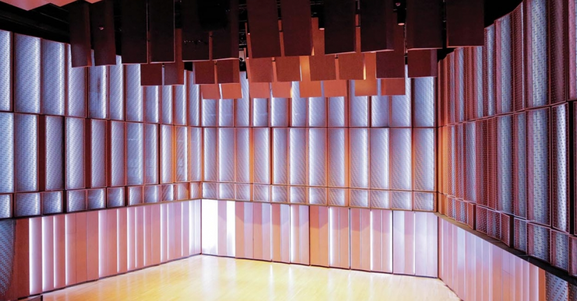 Backlighting Perforated Panel