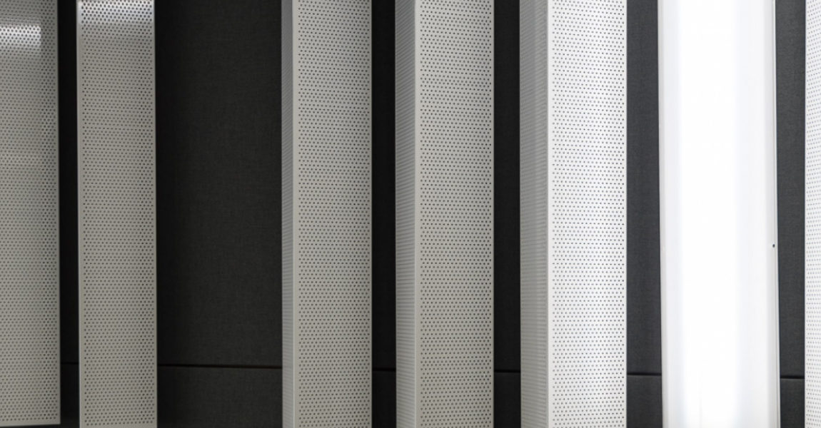 Perforated Formed Facade
