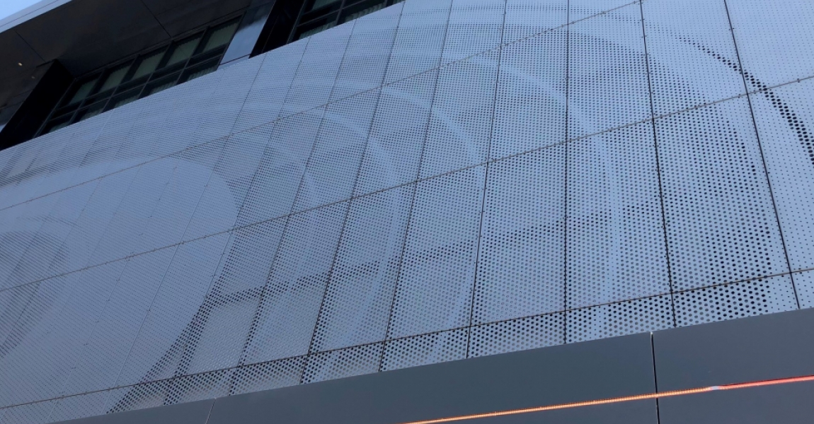 Perforated Picture Facade