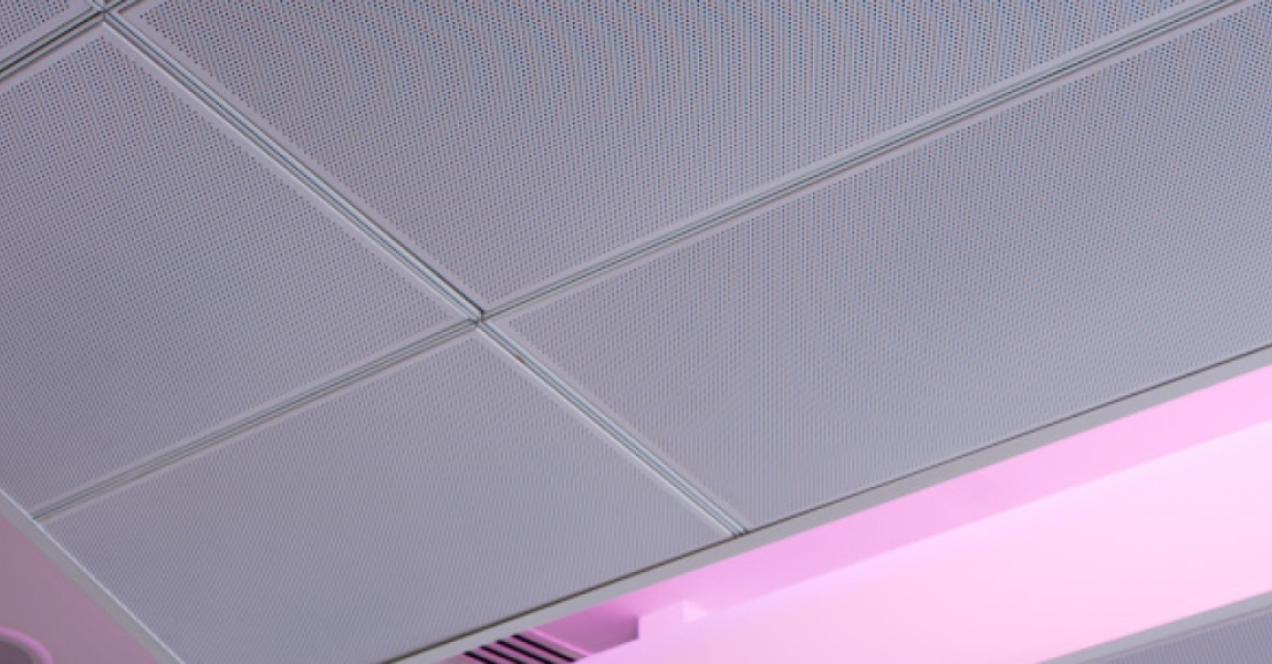 Perforated Ceiling Panel