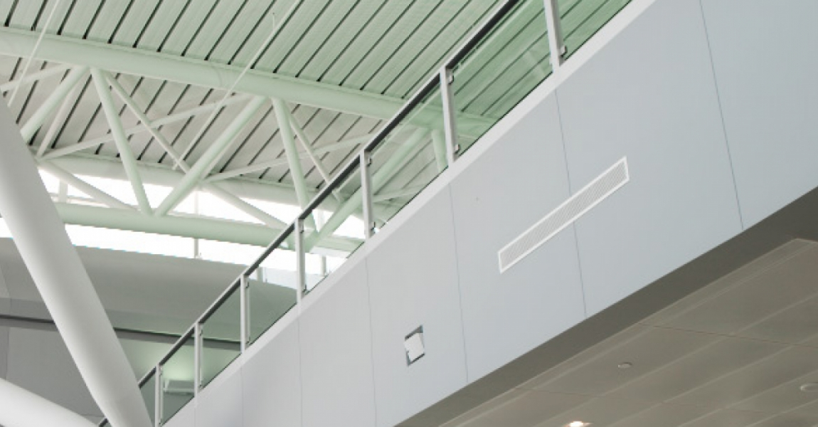 Perforated Security Ceiling