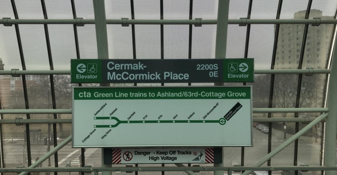 Cermak-McCormick Place Train Station