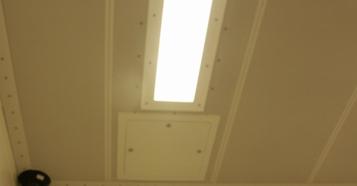 Perforated Drop Ceiling