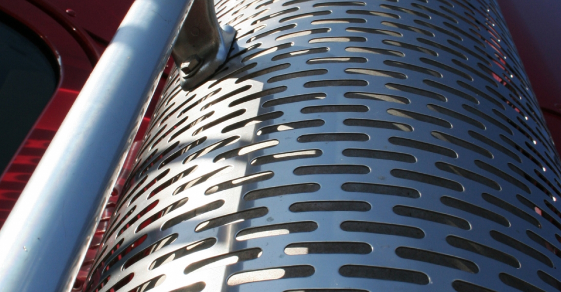 Perforated Muffler Exhaust Guards