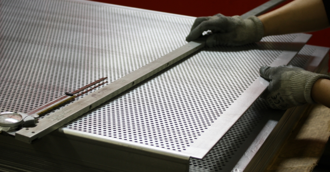 Perforated Automotive Grille