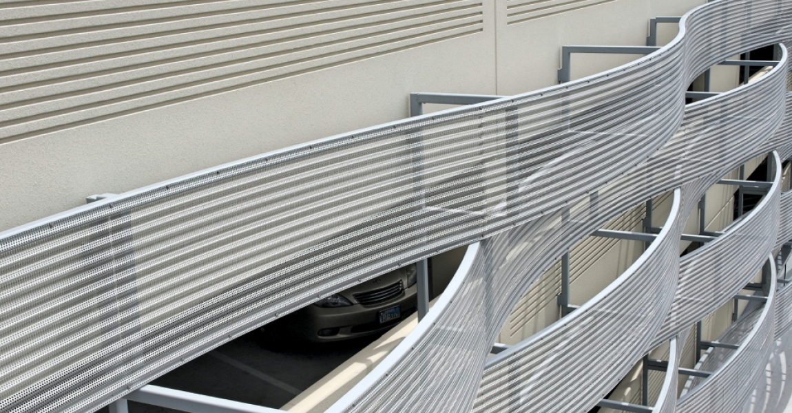Perforated Roll Forming Facade