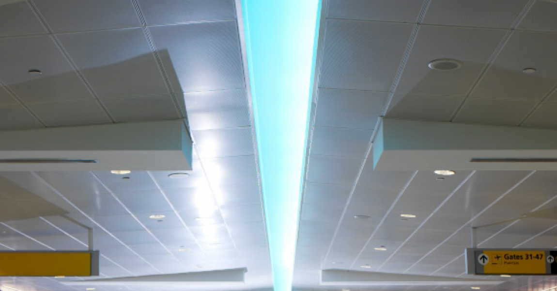 Custom Perforated Ceiling