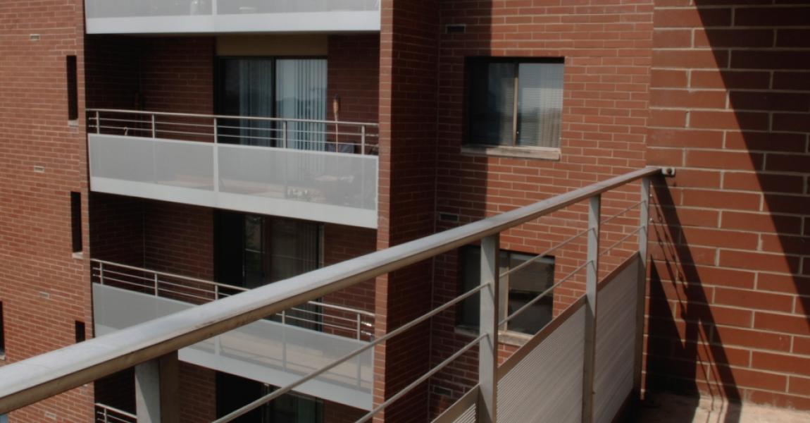 Perforated Balcony Railing