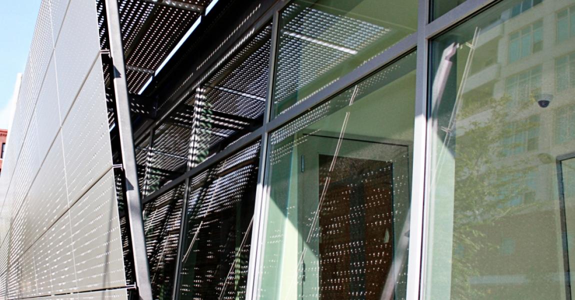 Custom Perforated Sunshade & Facade