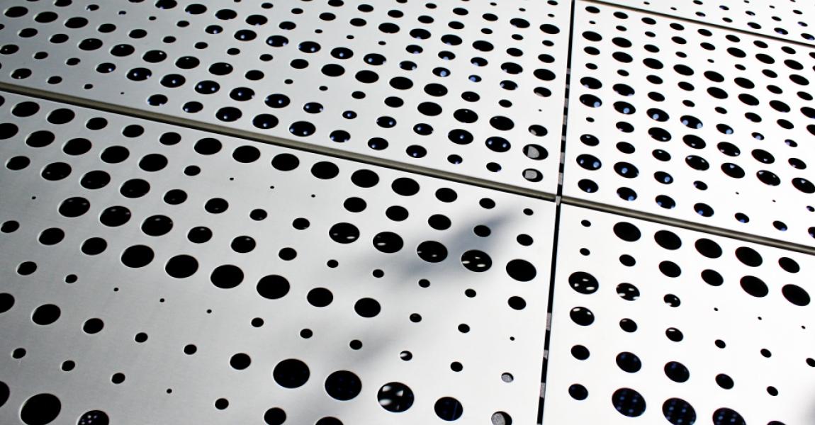 Custom Perforated Gradient Facade