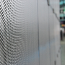 Perforated Divider Wall
