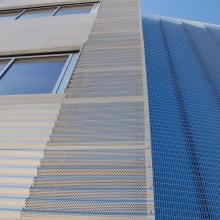 Perforated Exterior Facade