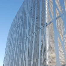 Perforated Building Facade