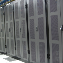 Perforated Server Cabinet