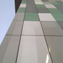 Perforated Tile Facade