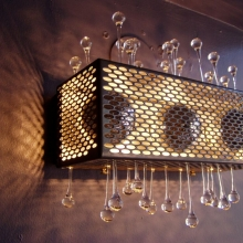 Custom Perforated Lighting Component