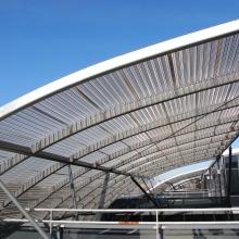Perforated Sunshade