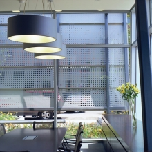 Office Perforated Privacy Screen