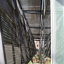 Perforated Facade Support Structure